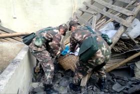四川兴文发生5.7级地震 部队官兵紧急驰援