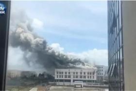 老干妈厂区再次失火!
